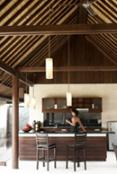manta villa open kitchen
