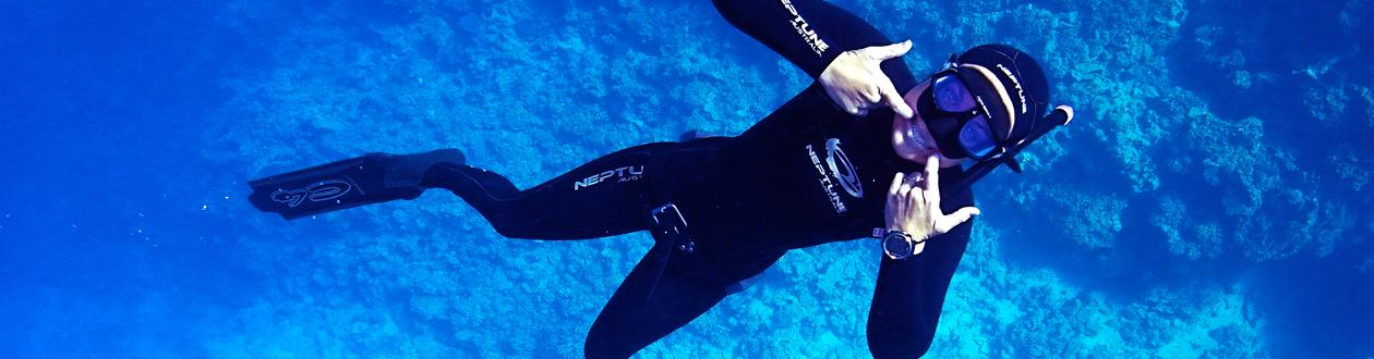 freediving gili islands