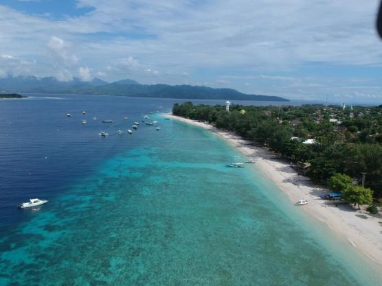 Gili Trawangan east beach