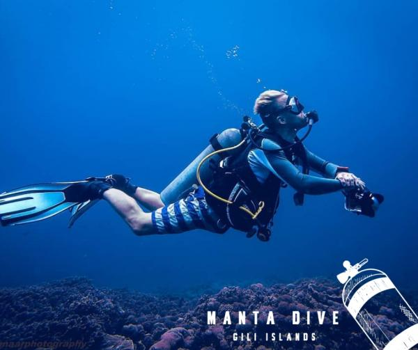The Gilis are known as one of the top dive destinations in all of Indonesia